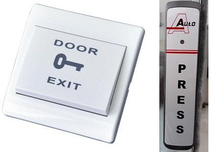 Nút nhấn cửa tự động (có dây – không dây)